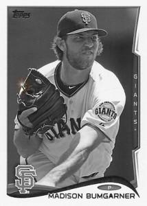 2014 Topps Baseball Sparkle Variation Spotter 106