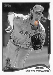 Sparkle 548 Jered Weaver HL