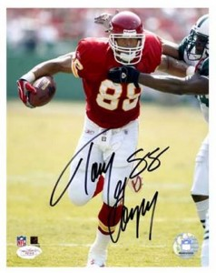 Tony Gonzalez Cards, Rookie Cards and Autographed Memorabilia Guide 47