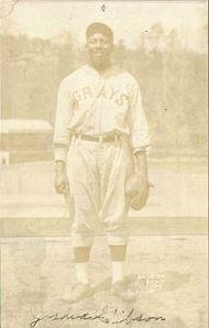 1931 Harrison Postcard Josh Gibson