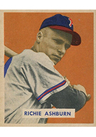 Richie Ashburn Cards, Rookie Card and Autographed Memorabilia Guide