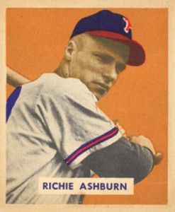 Richie Ashburn Cards, Rookie Card and Autographed Memorabilia Guide 1