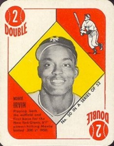 Top 10 Baseball Cards to Remember Monte Irvin 8