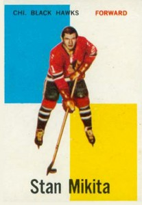 1960-61 Topps Stan Mikita RC