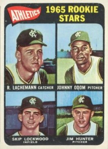1965 Topps Catfish Hunter RC