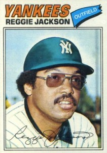 Top 10 Reggie Jackson Baseball Cards 7