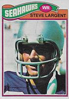 Steve Largent Cards, Rookie Card, Autographed Memorabilia Guide
