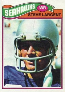 Steve Largent Cards, Rookie Card, Autographed Memorabilia Guide 1