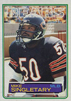 Mike Singletary Cards, Rookie Cards and Autographed Memorabilia Guide