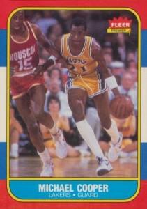 1986-87 Fleer Michael Cooper