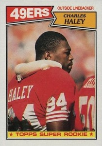 1987 Topps Charles Haley RC