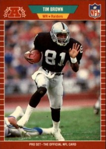 Tim Brown Football Cards, Rookie Cards and Autographed Memorabilia Guide 1