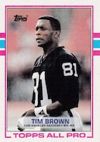 Tim Brown Football Cards, Rookie Cards and Autographed Memorabilia Guide