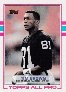 Tim Brown Football Cards, Rookie Cards and Autographed Memorabilia Guide 3