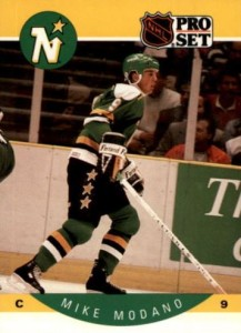 1990-91 Pro Set Mike Modano RC