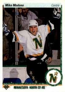 1990-91 Upper Deck French Mike Modano RC