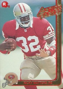 1991 Action Packed Ricky Watters RC