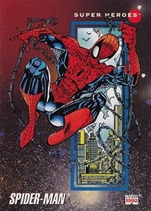 1992 Marvel Universe 3 Base Spider-Man