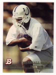 1994 Bowman Marshall Faulk RC