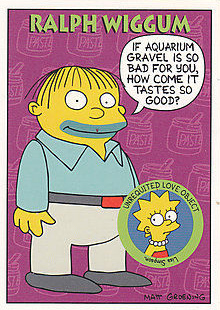 1994 SkyBox Simpsons Series II Trading Cards 24