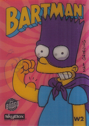 1994 SkyBox Simpsons Series II Trading Cards 28