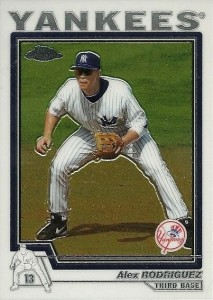 2004 Topps Chrome Traded Alex Rodriguez