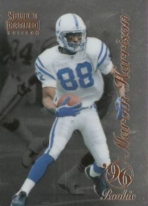 1996 Select Certified Marvin Harrison RC