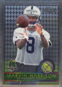 1996 Topps Chrome  Marvin Harrison RC