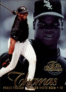1997 Flair Showcase Baseball Cards 27