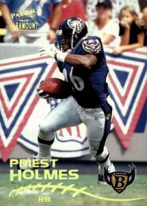 1998 Paramount Priest Holmes RC