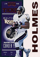 Priest Holmes Cards, Rookie Cards, Autographed Memorabilia Guide