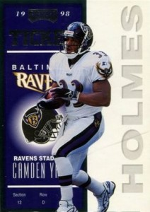 1998 Playoff Contenders Priest Holmes RC