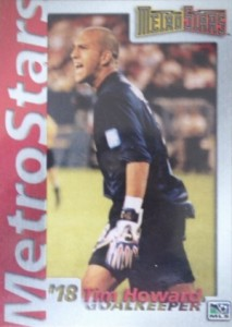 2001 MetroStars Promo Tim Howard