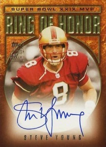 2002 Topps Ring of Honor Autographs Steve Young