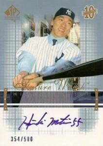 Hideki Matsui Cards, Rookie Cards, Autographed Memorabilia 2