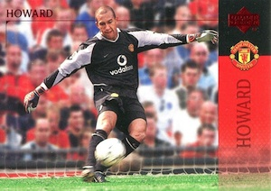 2003 Upper Deck Manchester United Tim Howard #91