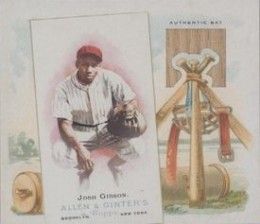 Josh Gibson Cards and Autographed Memorabilia Guide 3