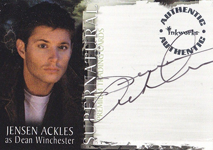2006 Inkworks Supernatural Season 1 Trading Cards 1