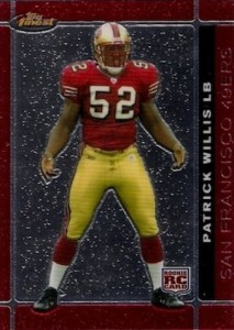 2007 Finest Patrick Willis RC