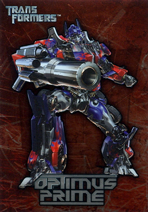 2007 Topps Transformers Movie Trading Cards 21