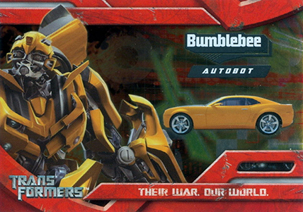 2007 Topps Transformers Movie Trading Cards 23