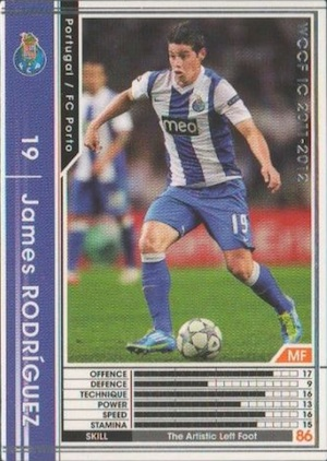 Top James Rodríguez Cards for All Budgets 2
