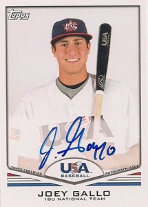 Joey Gallo Rookie Cards and Key Prospect Cards Guide 4