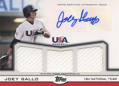 Joey Gallo Rookie Cards and Key Prospect Cards Guide 5