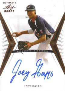 Joey Gallo Rookie Cards and Key Prospect Cards Guide 12