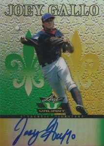Joey Gallo Rookie Cards and Key Prospect Cards Guide 13