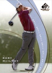 2012 SP Game Used SP1 Rory McIlroy