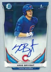 2014 Bowman Chrome Prospect Autographs Kris Bryant