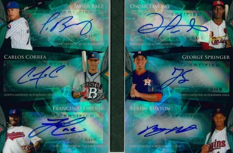 2014 Bowman Platinum Baseball Cards 32