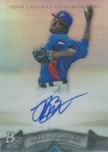 2014 Bowman Platinum Baseball Prospect Autographs Akeem Bostick